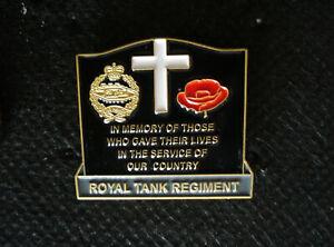 ROYAL TANK REGIMENT  pin badge