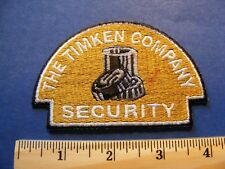 the timken company security patch