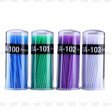 Hot 100pcs Swab Micro Brush Disposable Microbrush Applicators Eyelash Extensions