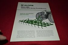 Oliver Tractor 3000 Series 3-Point Hitch Spring Tooth Har Dealers Brochure DCPA8