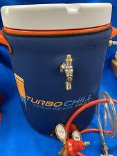 Turbo Chill Beer Keg Chiller. Warm Beer Keg To 38 Degrees Fast. Jockey Box.