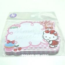 HELLO KITTY KAWAII CUTE NOTEPAD CARTOON PLANNER MEMOPAD SMALL 50 SHEETS # SWEET