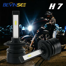 H7 For Honda CBR600RR ABS 2003-2018 LED Headlight Kit High Low Beam White Bulbs