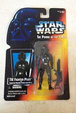 1995 Hasbro Kenner Star Wars Power of the Force Tie Pilot w/ Warning Sticker