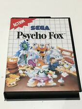 Psycho Fox Boxed Sega Master FREE SHIPPING WORLDWIDE!