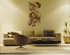 ik1579 Wall Decal Sticker Dragon Chinese mythological beast bedroom living room