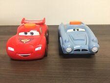 Two Disney Pixar Cars Talking Flashlights Finn McMissile And Lightning McQueen