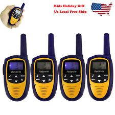 4*Retevis Kids Walkie Talkie Rt31 Uhf 22Ch 0.5W Vox Lcd Display Two Way Radio Us