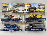 Complete 4 Car Set * 2020 Hot Wheels Team Transport Case H w/ Mooneyes & 300 SL