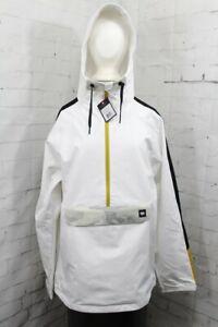 686 Waterproof Anorak Softshell Jacket, Men's Large, White New 2022