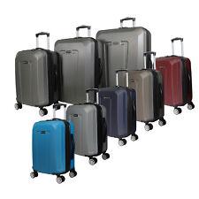 Kemyer 3-Piece Hardside Upright Spinner Rolling Luggage Set