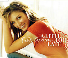 "DELTA GOODREM ""A Little Too Late"" Rare 2005 4Trk CD *Enhanced *Demo ""The Riddle"""