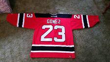 Scott Gomez Autographed Jersey XL #23 New Jersey Devils