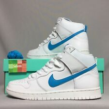 Nike SB Dunk Alto TRD Qs UK8 Richard Mulder 881758-141 EUR42.5 US9 Blanco Hi Low