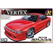 Aoshima 39779 1/24 Nissan SILVIA S13 VERTEX FULL AERO TanE Design Rare fromJapan