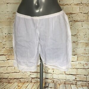 VINTAGE WHITE COTTON FRENCH KNICKERS BRIEFS BLOOMERS PANTIES SEXY