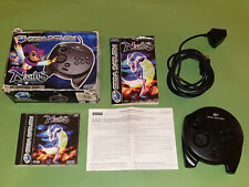 Nights Into Dreams Boxed Sega Saturn Game & 3D Control Pad Controller - Sega