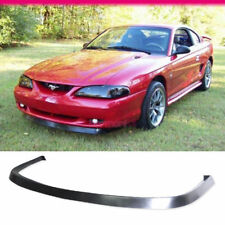 Fits 94-98 Ford Mustang GT Style Front Bumper Lip Spoiler PU