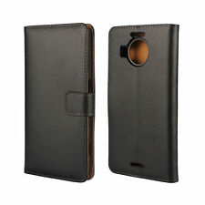Plain Mobile Phone Wallet Cases with Kickstand for Nokia