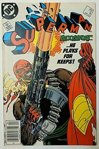 SUPERMAN #4 (1987)!  KEY Issue!  1st Appearance Bloodsport!! 1st Maggie Sawyer!!