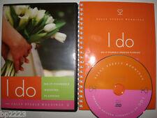 Secret Do-It-Yourself WEDDING PLANNER-DVD KIT-SAY I DO!-2 LESS STRESS-NEW SEALED