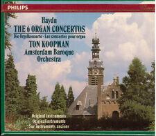 Haydn: 6 Organ Concertos / Koopman, Amsterdam Baroque - CD