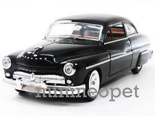 MOTORMAX 73225 1949 49 MERCURY COUPE 1/24 DIECAST BLACK