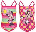 NEW Disney Minnie Mouse Toddler Girls Vivid Reversible One Piece Swimsuit Sz 2T