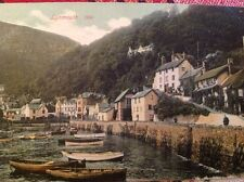 "W.H.Smith & Son ""Grosvenor Series"", Bristol postcard of Lynmouth,Devon"