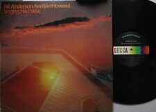 Country Lp Bill Anderson & Jan Howard Singing His Praise On Decca