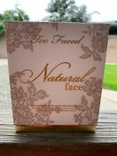 Too Faced Natural Face Palette Highlighter Bronzer Blush NIB Authentic Too Faced