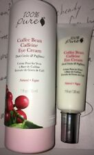 100% Pure Natural Vegan *Coffee Bean Caffeine Eye Cream* 1fl.oz./30ml. New BNIB