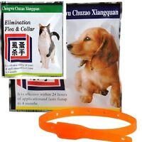 Pet Dog Flea Against Tick Anti Pet tect Collar Repel Rubber Necklace P9S6