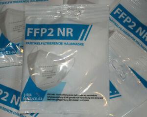 7 x FFP2 Maske Halbmaske FFP2 NR, FFP2-Schutzmaske, Schutz-Halbmaske, neu, OVP