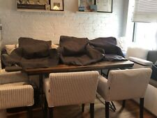 1 IKEA NILS DARK GRAY SKIFTEBO ARMCHAIR SLIPCOVER RARE! HARD TO FIND!