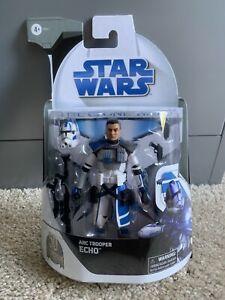 """Star Wars Black Series Clone Wars Arc Trooper Echo Target Exclusive Hasbro 6"""""""