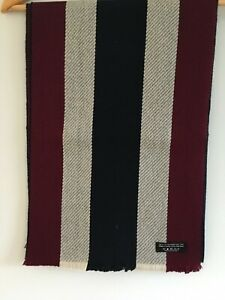 Gents Merino Wool College Type Scarves Made in Scotland