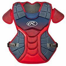 New Rawlings Velo 15.5 Intermediate Baseball Catcher Chest Protector CPVEL Navy