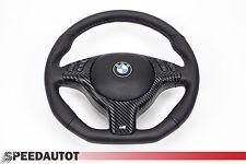 adintelado Volante De Cuero BMW E46 M CON ABERTURA Multi radio. Y Airbag A