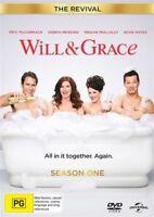 Will & Grace - The Revival : Season 1 (DVD, 2-Disc Set) NEW