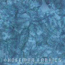 Hoffman Bali 1895 Watercolors Batik Fabric, By The Half Yard, #311 LAKE