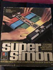 Super Simon Game (Vintage, Milton Bradley, 1979)
