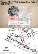 Yamaha TZR250 RZ350 RD350YPVS Valve Pulley NOS RD125YPVS Cable Pulley 29L-1132E-