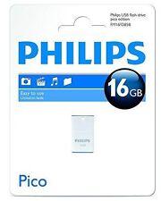 Philips Pico Edition 16gb Mini Memory Stick USB 2.0 Flash Drive