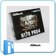 Placa base ATX H170 ASRock H170 PRO4 Socket 1151 con Accesorios