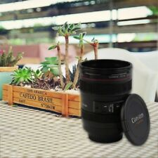 ABS Travel Coffee Mug Cup Water Coffee Tea Camera Lens Cup With Lid Gift