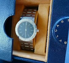 Bulgari OROLOGIO A5017 30MM Elegante HOCHFEINE UNISEX LUXUS ARMBANDUHR UM 1985