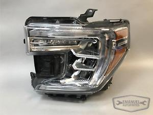 GMC Sierra Denali 1500 2019 2020 2021 LH Left Complete LED Headlight OEM NEW