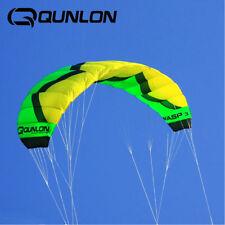 3M² 4 Line Traction Kite Powerkite Trainer Kite for Landboarding Kitesurfing