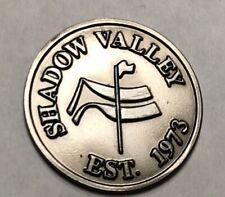 Shadow Valley .... Golf Ball Marker... Est. 1973